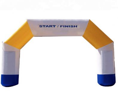 Inflatable Arch Start Finish Services