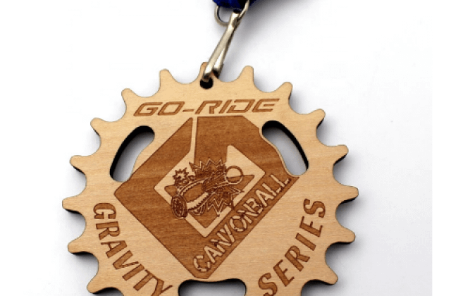 wooden sports medals