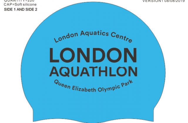 London Aqua-tion Swimming Caps v-01